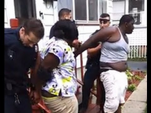 Cop Punches Underaged Pregnant Girl & Needs Help Restraining Her! (ORIGINAL VIDEO)