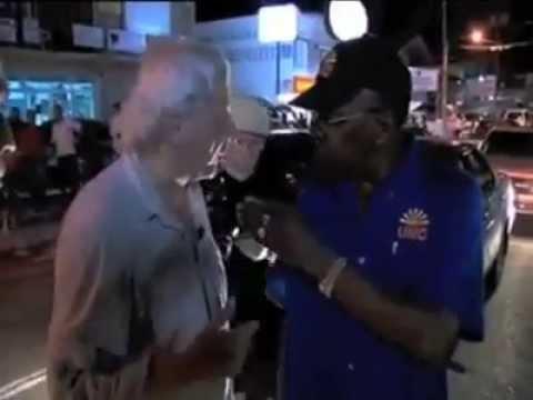 Trini Jack Warner gets violent with reporter