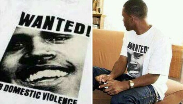 Shots Fired Frank Ocean Disses Chris Brown With T-Shirt