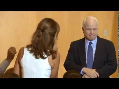 John McCain Gets Ripped By Syrian Woman over Supporting Attack on Syria