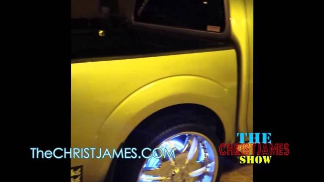 ( Trinidad & Tobago) Travis Knight Rider Truck plays Asap Ferg Work Remix