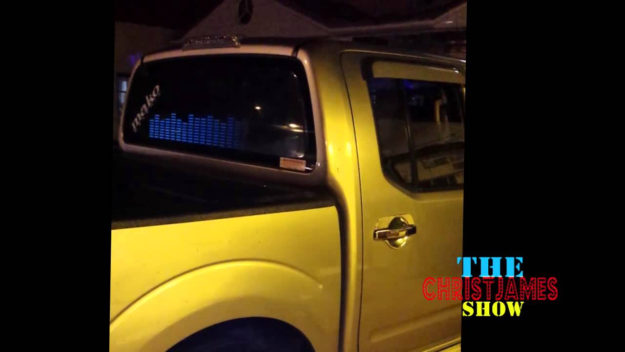 ( Trinidad & Tobago)  Travis Knight Rider Truck  plays Meek Mill