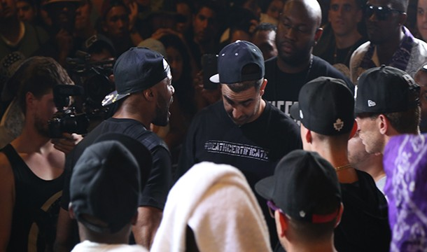 KOTD – Rap Battle – Dizaster vs Math Hoffa