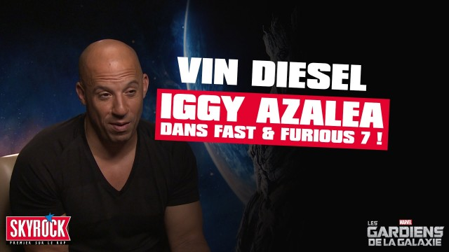 "Iggy Azalea to Make Cameo in Upcoming ""Fast & Furious 7"" Film"