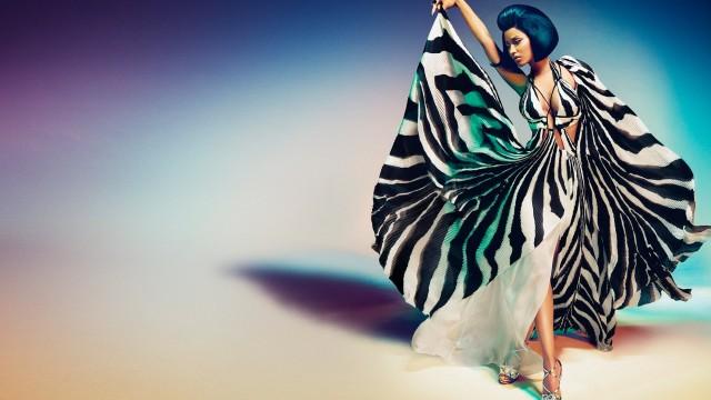 Nicki Minaj Campaign For Roberto Cavalli!