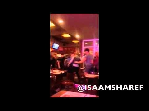 Home Catch Fade Full Video Of Bald Man Breaking Chair Over Gay Couple's Heads In Chelsea Barbecue Shack
