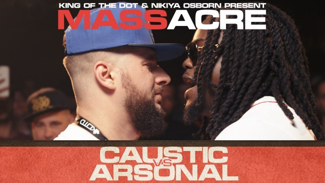KOTD – Rap Battle – Caustic vs Arsonal