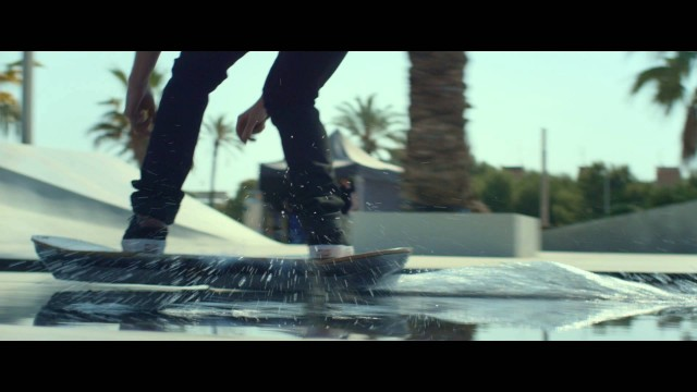 The Lexus Hoverboard Is Real, Skaters Try It Out!