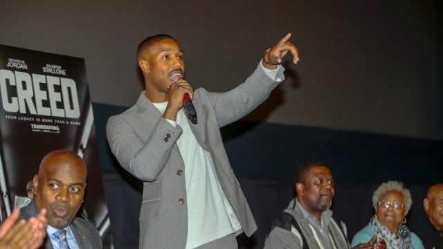 'Creed' star Michael B. Jordan gets key to hometown of Newark