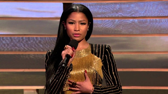 "Nicki Minaj Reads ""Still I Rise"" by Maya Angelou 