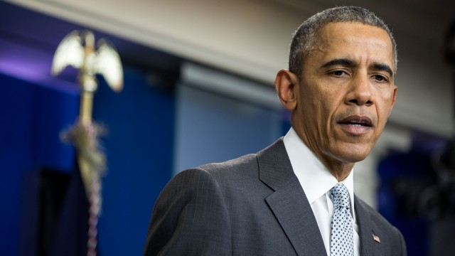 President Obama Delivers a Statement on the attacks in Paris
