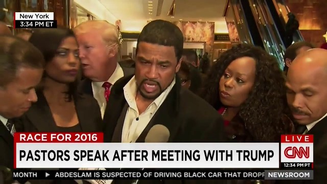 "Black Pastor Speaks After Meeting With Donald Trump! ""He's Not The Person That The Media Has Depicted Him To Be"""